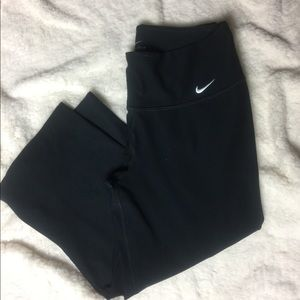 Nike wide leg workout pants